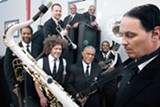 Ben Jaffe, second from left, is the Preservation Hall Jazz Band's musical director.