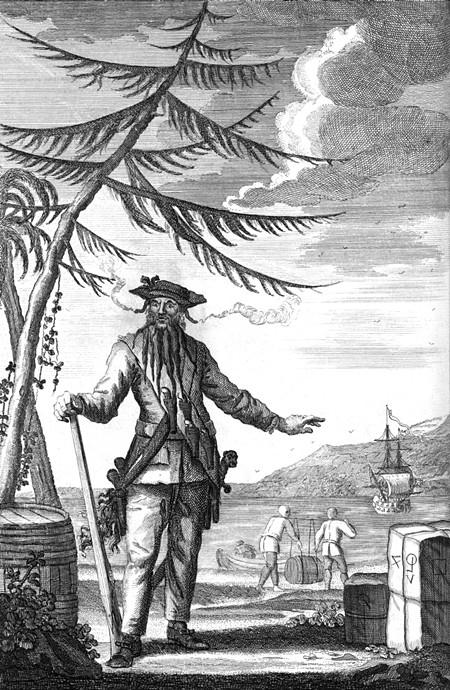 Blackbeard, aka Edward Teach