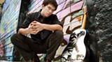 Blues musician David Jacobs-Strain