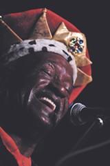 Bluesman Adolphus Bell at 2008's Savannah Music Festival
