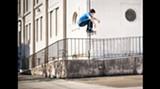 Board silly: Garrett Olinger (Photo: Andrew Brodhead)
