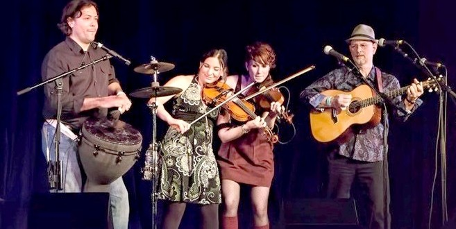 Burning Bridget Cleary are on fire at Irish festivals around the country.