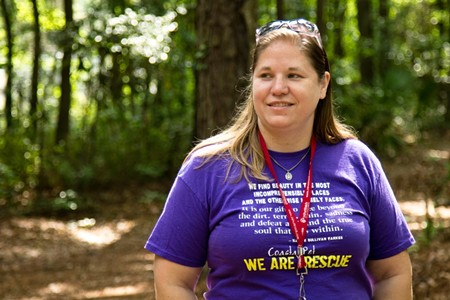 Camp Pawsawhile Retreat will give Lisa Scarbrough and other Coastal Pet Rescue volunteers a place to facilitate foster care and adoptions for cats and dogs. - JON WAITS/@JWAITSPHOTO