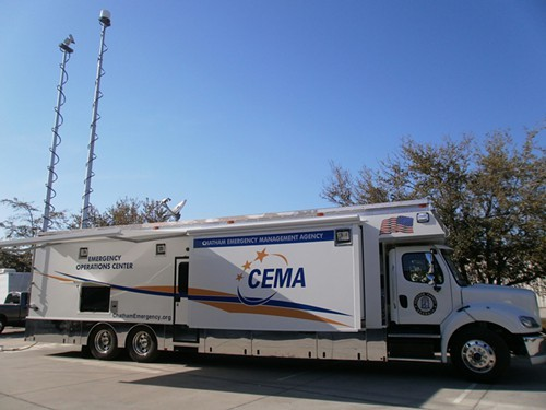 CEMAs Mobile Emergency Operations Center