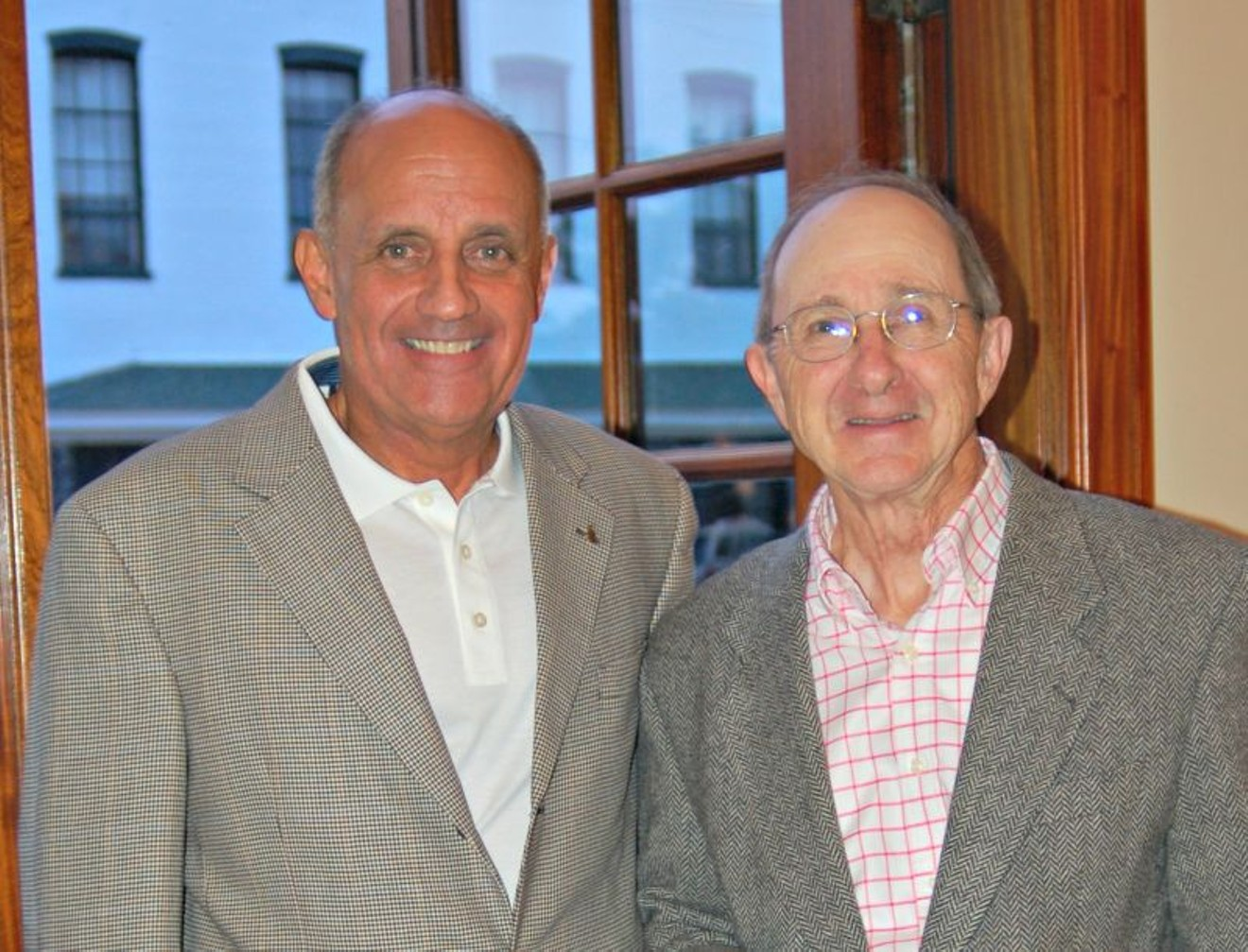 Charles H. Morris (right) with Canyon Ranch Institute President Richard H. Carmona, M.D., M.P.H., FACS, 17th U.S. Surgeon General.