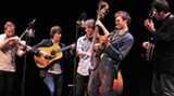 Chris Thile and company at the Trustees (SMF photo)