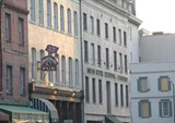 Churchill's exterior in downtown Savannah