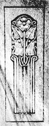 BRANDON BLATCHER - Close up of grave detail