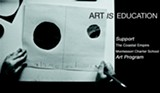 Coastal Empire Montessori School hosts a fundraiser exhibiton and auction to benefit its art program; event is Friday night