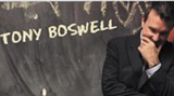Comic Tony Boswell, from Chicago, is now a resident of Charlotte, N.C.