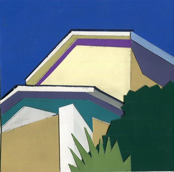Dana Richardson's work tends to focus on Savannah architecture.