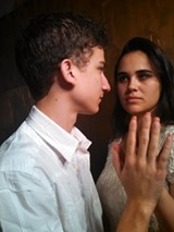 ALEXANDER KANTER - Daniel Thrasher and Amaya Murphy are Man and Woman in the drama Purgatorio.