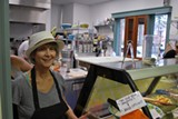 Deli manager Marilyn Fishel loves the extra room and natural light of the new kitchen.