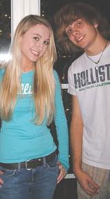 Emily Leach and Carson McCluskey
