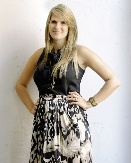 Fashion Night organizer Bree Thomas - CEDRIC SMITH