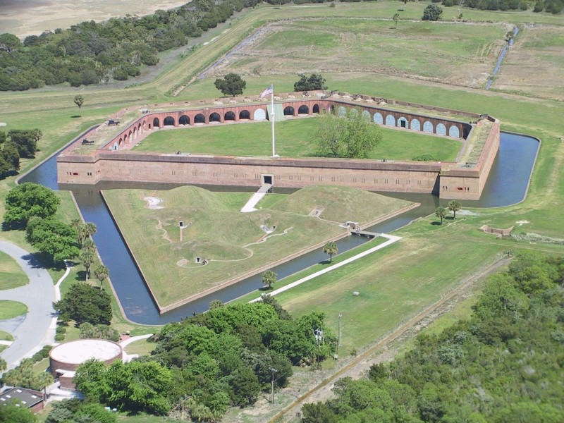 Fort Pulaski is still where it always was, if you get the drift of the story
