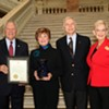 Fred & Dinah Gretsch receive GA Governor's Award