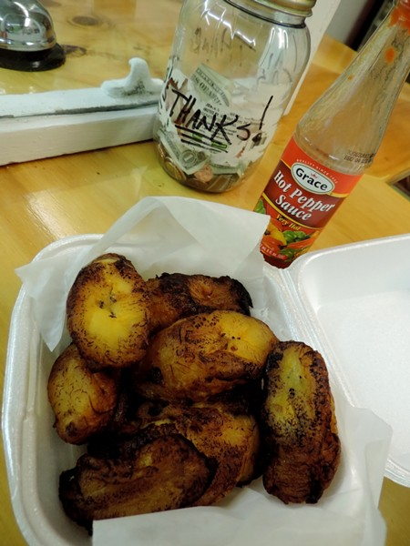 Fried Plantains!