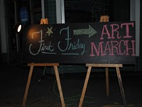 Gallery Hop: December Art March