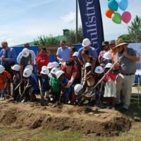 'Garden Shade House' breaks ground at W. Broad YMCA