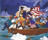 'George Washington Carver Crossing the Delaware'