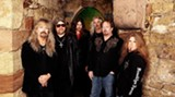 Hatchet job: The band today. Bobby Ingram is at far left, and next to him is Dave Hlubeck.