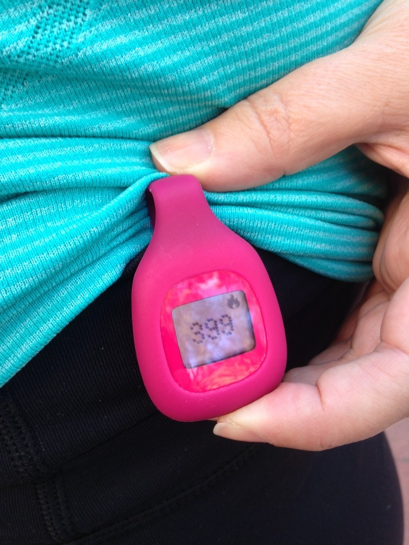 It doesn't get any easier than this. Wear a small gadget to record your steps and your higher-intensity movement, such as climbing steps. Your daily information is automatically logged in an easy-to-interpret dashboard-style display that you can check on a smartphone or computer.