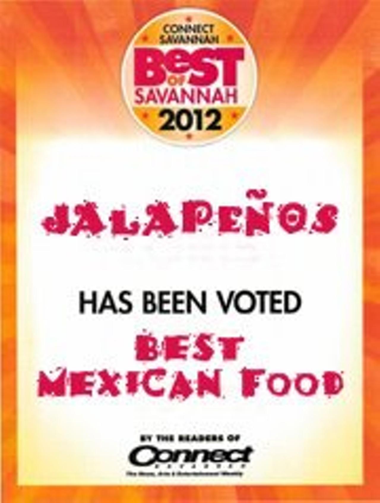 Jalapenos Mexican Restaurant Abercorn Savannah Southside