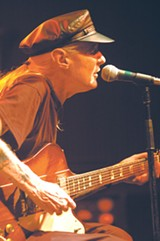 Johnny Winter in performance