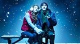 Kayli Carter and James Edwards in a scene from the SCAD production of Almost, Maine.