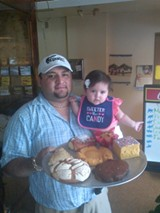 La Canasta owner Julio Cesar with the next generation