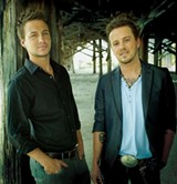 Love and Theft plays for Saddle Bags' anniversary party