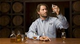 Master Taster Jeff Norman hard at work at the Jack Daniel's distillery in Tennessee