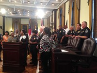 Mayor, Council, address gun violence