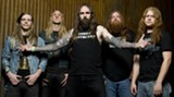 PROSTHETIC RECORDS - Men of metal: Chance Garnette (center) is Skeltonwitch's vocalist.