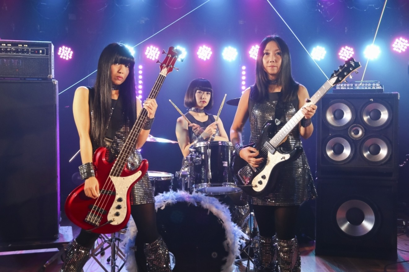 Naoko Yamano, right, is the remaining founding member of Shonen Knife