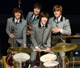 Ohio's Mark Benson, far right, is a co-founder of 1964 - The Tribute. Benson has been 'playing' John Lennon in this show for 30 years.