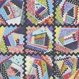 One of the quilts in Crazy Quilts for Modern Times