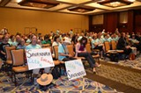 VICKI WEEKS - Over 700 people came from all over the Southeast to send a powerful message to the EPA.