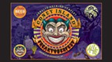 Pouring blood red in the glass: Coney Island Freaktoberfest