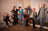 """Putting the """"fun"""" in dysfunctional: The cast of Tybee Arts Association Performance Society's production of """"Sordid Lives."""""""