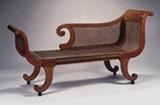 Recamier Sofa, one of a pair, c. 1820-30