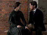 "Robin Wright and James McAvoy in director Robert Redford's ""The Conspirator."""
