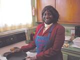 Sallie Ann Robinson in her home
