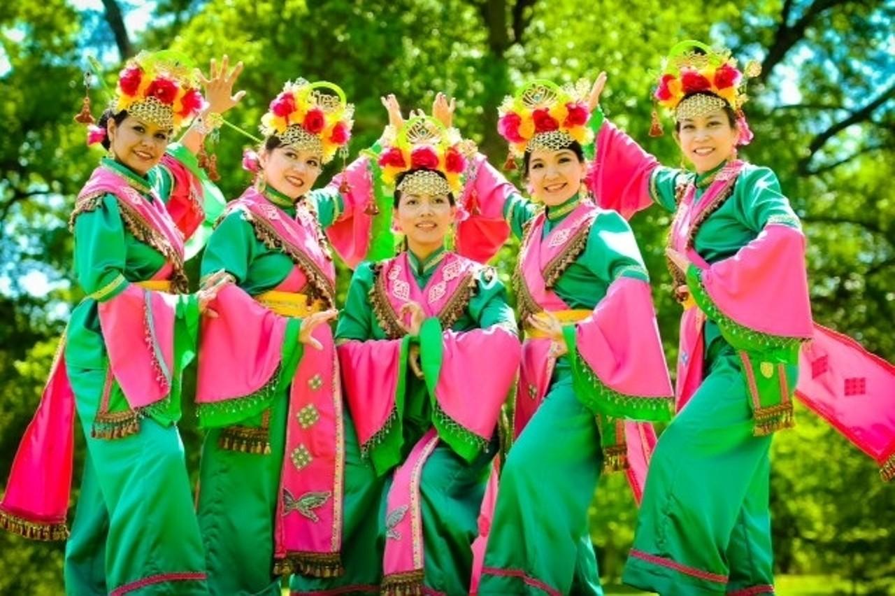 Asian women in lingerie
