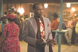 Scene from John Sayles's Honeydripper, starring Danny Glover, screening Feb. 5