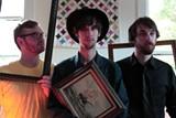 Self-portrait: Blackrune is Matt McCullough, left, P.M. Goerner and Chris Goggans