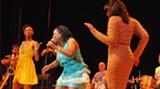 Sharon Jones onstage: Queen of the Dap-Kings.