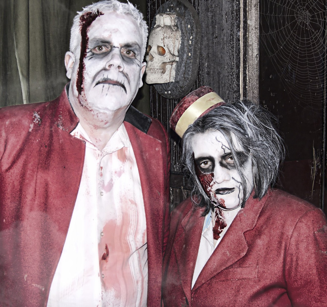 Sharply dressed zombies will make an appearance.
