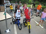 Shots from the first Savannah Play Street-type event, in 2010 on Washington Avenue